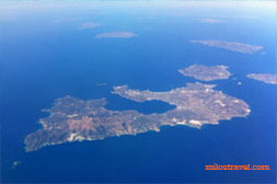 Milos from plane