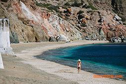 Milos island beaches - Paliochori