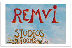 Remvi Studios & Rooms logo